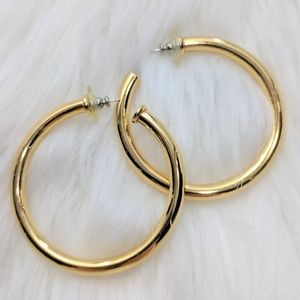 Jewelry - Statement Gold Hoops